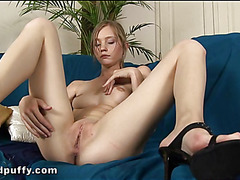 Sexy beaver playing with beauty