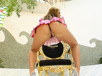 Kristina Bella is back getting booty fucked at Gazoo Traffic