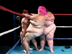 Be part of these all female wrestling match between a fat pig slut...