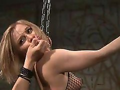 BDSM babe is punished in free tube flix