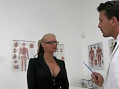 Cute Slut Writer Is Screwed By Juicy Package Of The Doctor