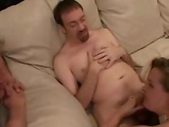 Cuckold Husband Vinnie Eats a Cream Pie