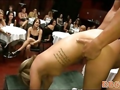 Cute girl gets fucked deep by stripper