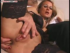 Wet pussy for dude and ladyboy dicks
