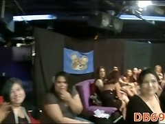 Girls go wild about stripper dick