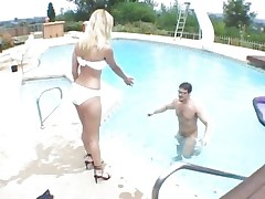 Pool honey Erin Moore gets a fair share of cock